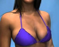 "Bikini Beach model Luli Fama ""Violet Starlet"" swimwear"