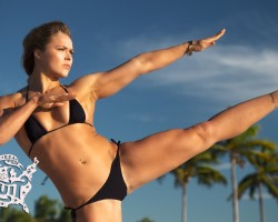 Ronda Rousey Uncovered | Sports Illustrated Swimsuit 2015