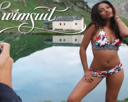 Ariel Meredith Exclusive Outtakes, Swim Daily