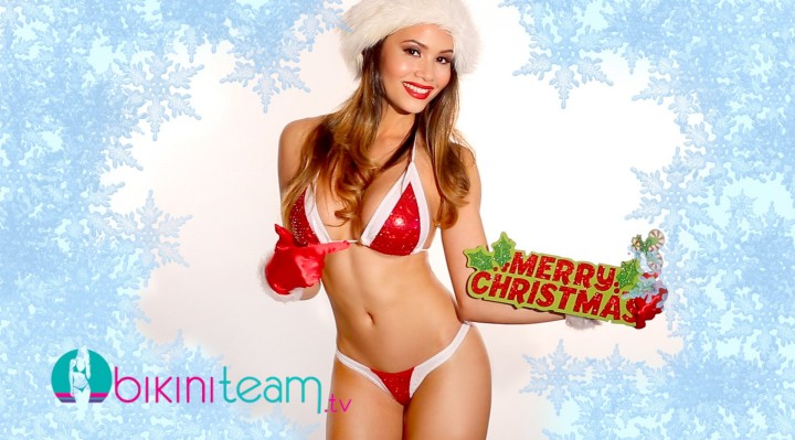 Jenise Lebron 2015 Sexy Santa